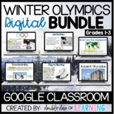 Winter Olympics Digital BUNDLE for Google Classroom! (6 un