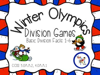 Winter Olympics: Division Games 1-6