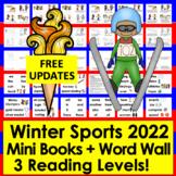 Winter Sports 2018 Mini Books Differentiated -3 Levels+ Ol