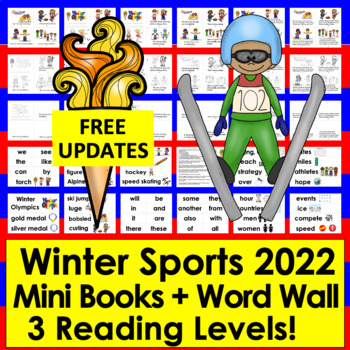 Winter Sports Differentiated Readers - 3 Levels + Illustra
