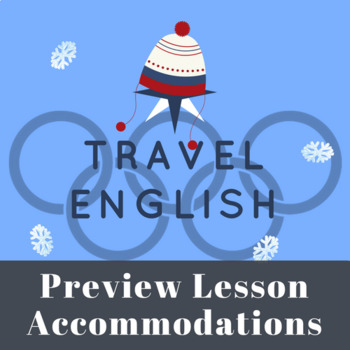 Winter Olympics English Course - Accommodations Lesson