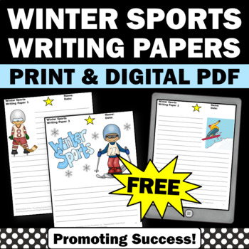 Free Winter Sports Writing Papers