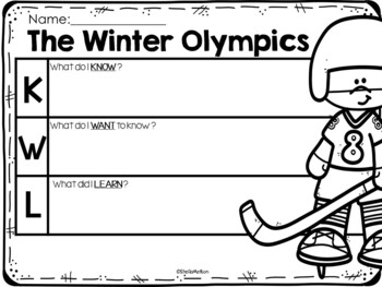 Winter Olympics FREEBIE!