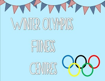 Winter Olympics Fitness Centers