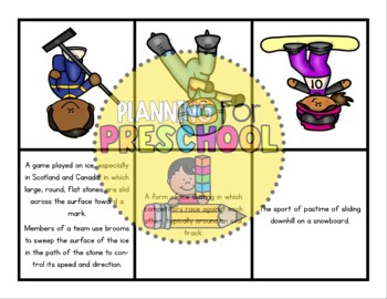 Winter Olympics Flashcards