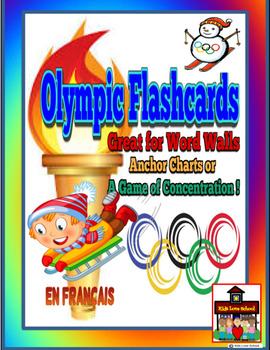 Winter Olympics-Flashcards/ Word Wall Posters ENGLISH version