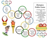 Winter Olympics Folder Game