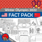 Winter Olympics FACT PACK Reading Passages, Writing Prompt
