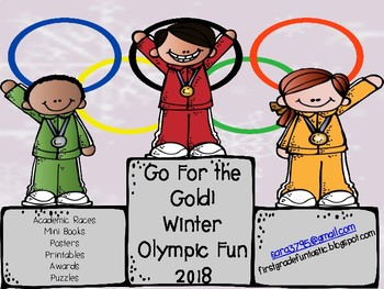 Winter Olympics *Go for the Gold*   Games, Activities and Printables