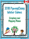 Winter Olympics 2018 Graphing and Mapping Mania! (Canadian Edition)