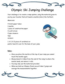 Winter Olympics- Hands-On Activities that Bring the Events to Your Classroom