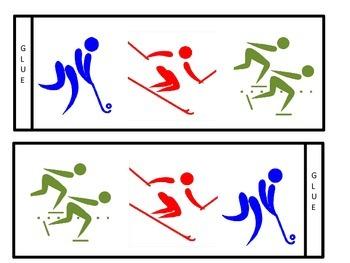 Winter Olympics Hat Pattern