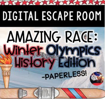 Winter Olympics History DIGITAL Escape Room: Amazing Race Breakout