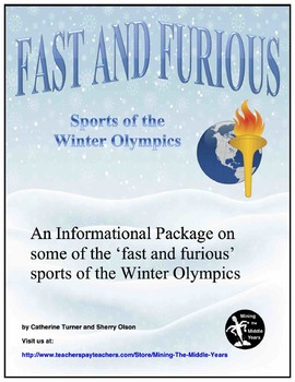 Winter Olympics:  Informational Text