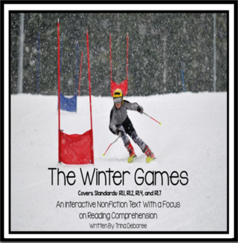 Winter Olympics Reader for Second and Third Grade
