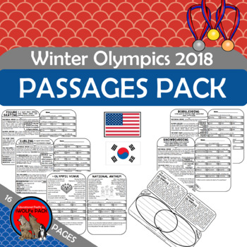Winter Olympics Informational Text and Comprehension Checks