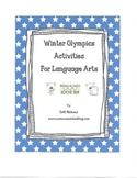Winter Olympics Language Arts Activities