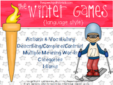 The Winter Games: Language Style
