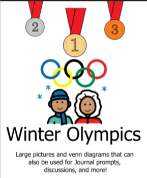 Winter Olympics:  Large Pictures for Lessons and Venn Diagrams