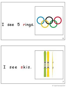 Winter Olympics Level A Reader