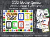 Winter Games: Literacy, Language & Listening Game