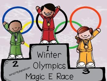 Winter Olympics *Magic E Race*  Freebie