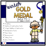 Winter Olympics Math Activities and Printables