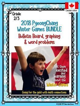 Winter Games Math BUNDLE (grade 2/3)