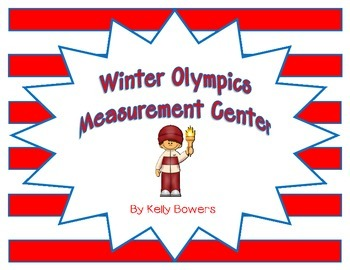 Winter Olympics Math Center