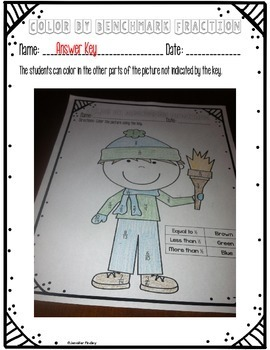 Winter Math Centers and Printables {4th Grade}