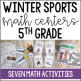 Winter Math Centers and Printables {5th Grade}