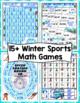 Winter Games Print and Play Math Games and Centers: 5th Grade