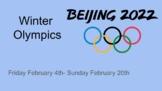 Winter Olympics Math Project