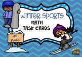 Winter Olympics 2018 Math Task Cards (3rd grade)