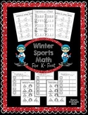 Winter Olympics Math - sequencing, missing number, countin