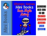 Winter Olympics Mini Book- Free Style Skiing
