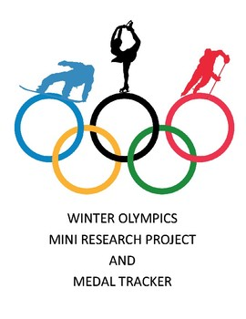 Winter Olympics Mini Research Project and Medal Tracker