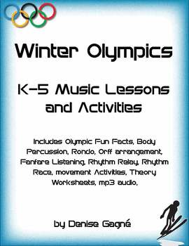 Winter Olympics Musical Activities