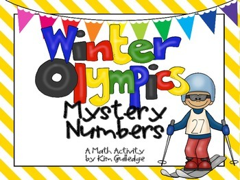 Winter Olympics Mystery Numbers - 8 Mathematical Practices