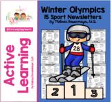 Winter Olympics Newsletter Set