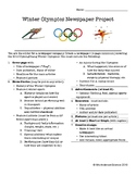 2018 Winter Olympics Newspaper Project