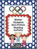 Winter Olympics Non-Fiction Reading Activity