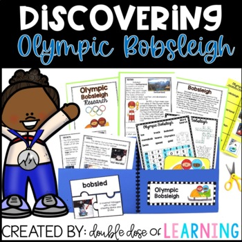 Winter Olympics: Olympic Bobsleigh Research Unit with PowerPoint