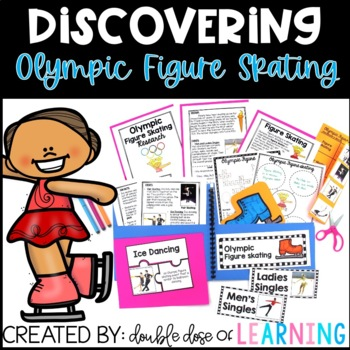 Winter Olympics: Olympic Figure Skating Research Unit with PowerPoint