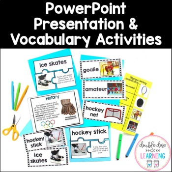 Winter Olympics: Olympic Ice Hockey Research Unit with PowerPoint