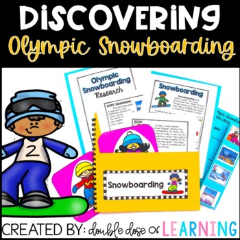 Winter Olympics: Olympic Snowboarding Research Unit with PowerPoint