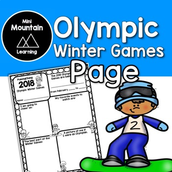 Winter Olympics Page