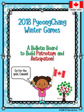 BUNDLE Winter Games Graphing & Bulletin Board (Canadian Ed.)