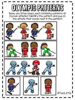Winter Olympics Patterns