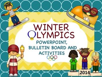 Winter Olympics Power Point - Banner *Pennant*-Writing Pro